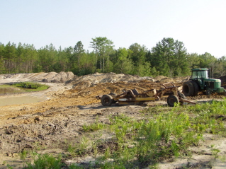 Southern sportsman aquatics land management photo gallery for Bass pond construction