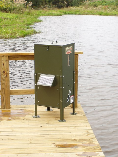 Southern sportsman aquatics land management purchase for Texas hunter fish feeder